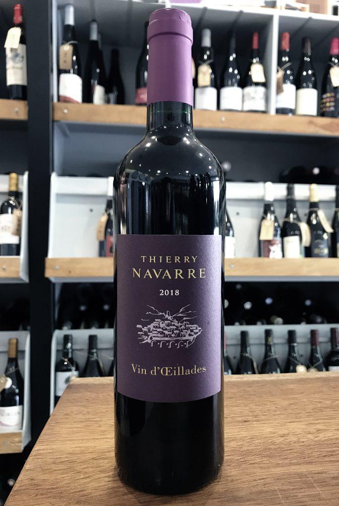 Sélection de vin rouge Vin d'Œillades, cépage œillade