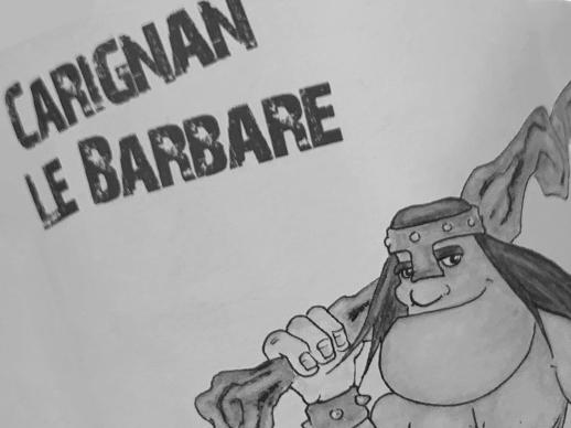 Sélection de vin rouge Carignan Le Barbare, cépage carignan