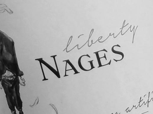 Sélection de vin rouge bio Liberty Nages, cépage, Syrah, Grenache, Merlot, Carignan